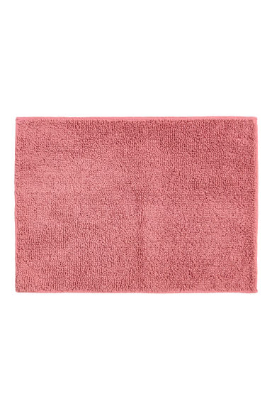 Terry bath mat - Old rose - Home All | H&M CN
