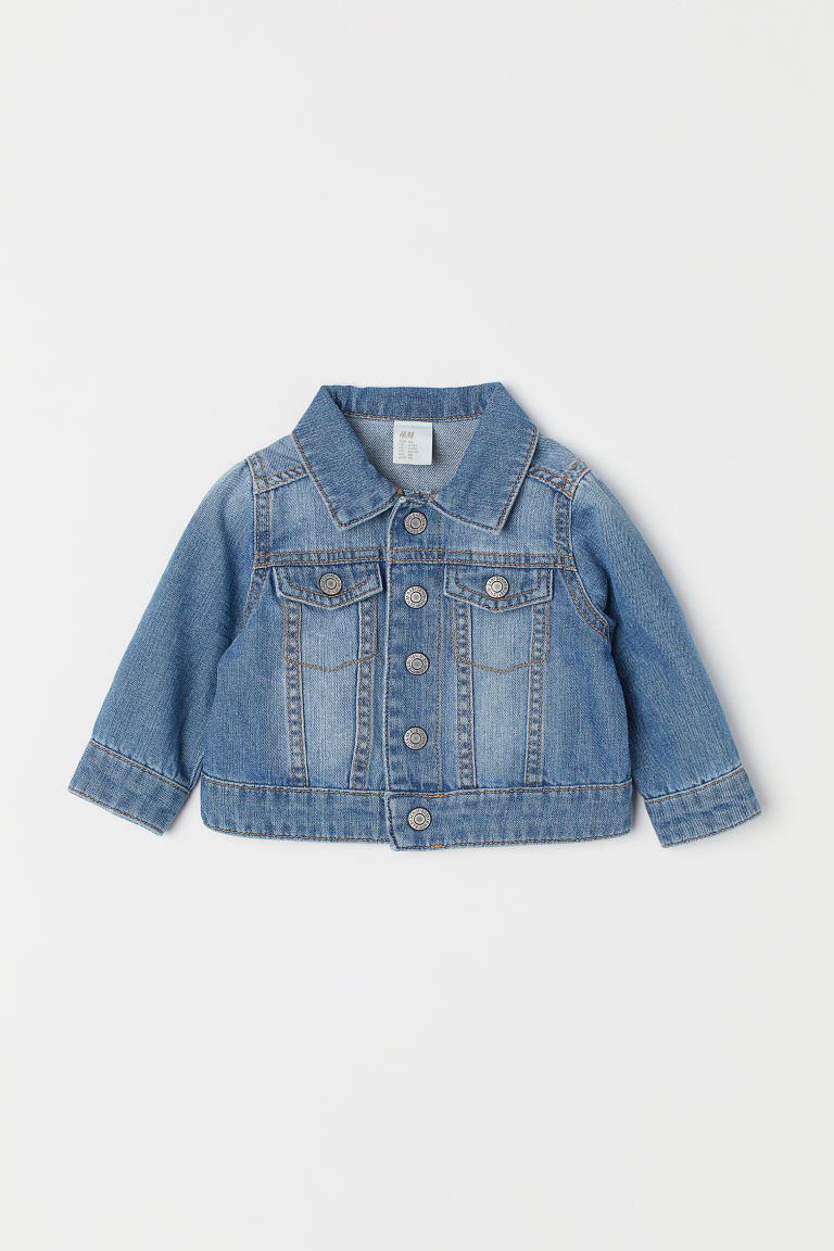 Denim jacket - Denim blue - Kids | H&M CN