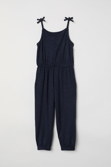 Sleeveless playsuit - Dark blue - Kids | H&M