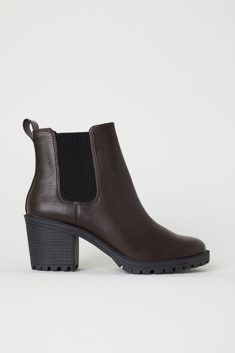 Ankle boots - Dark brown - Ladies | H&M