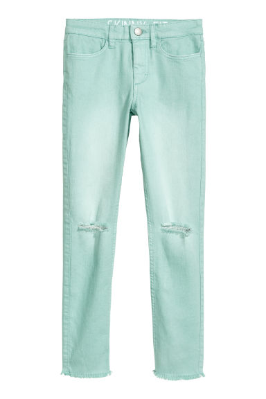 Superstretch trousers - Turquoise - Kids | H&M