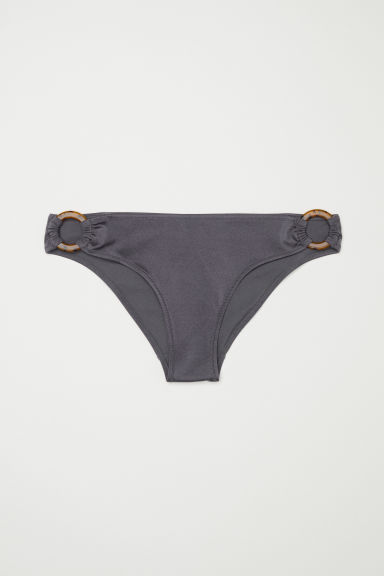 Bikini bottoms - Dark grey - Ladies | H&M CN