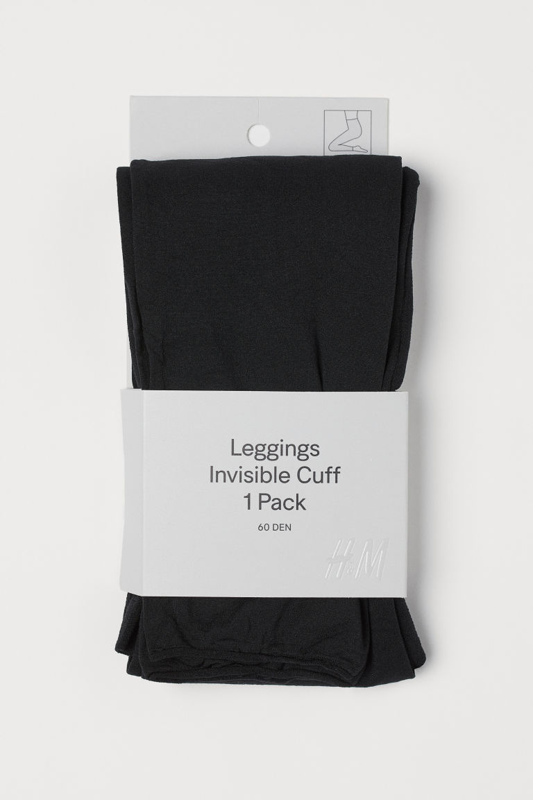 Legging - 60 denier - Zwart - DAMES | H&M BE