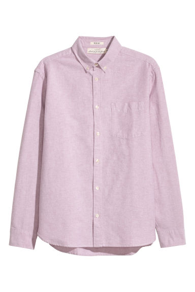 Oxfordskjorta Regular fit - Rosa - HERR | H&M FI