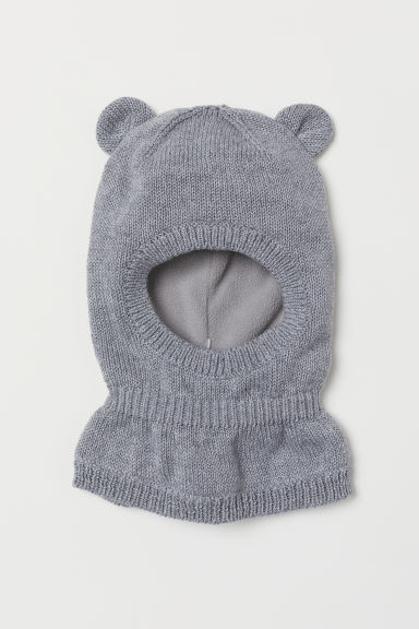 Fleece-lined balaclava - Grey - Kids | H&M