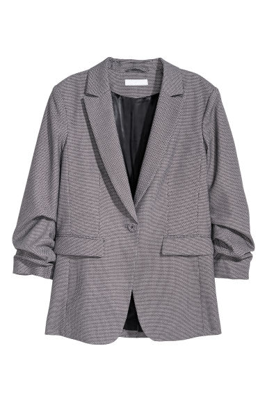 Jacket - Black/White patterned -  | H&M