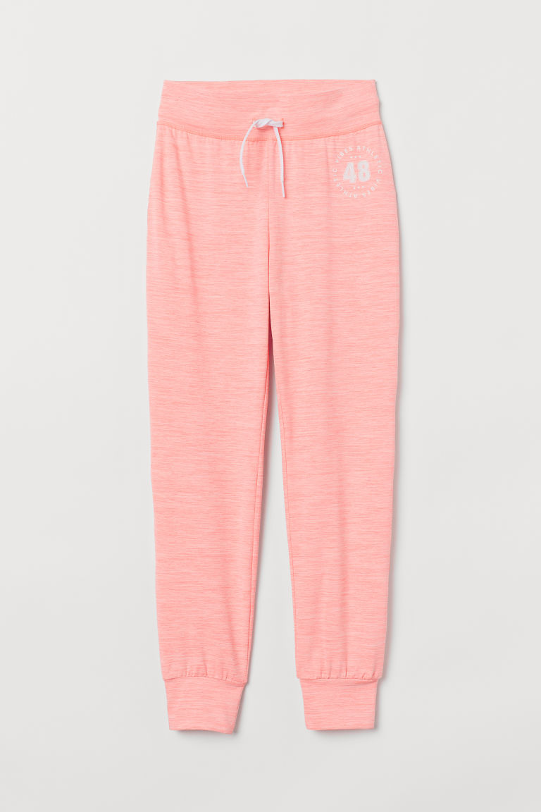 Sports trousers - Neon pink - Kids | H&M CN