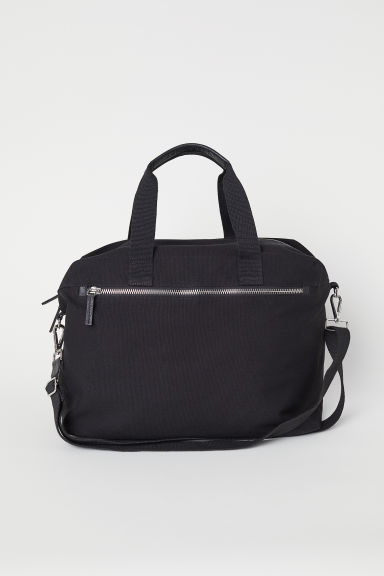 Canvas weekend bag - Black - Men | H&M CN