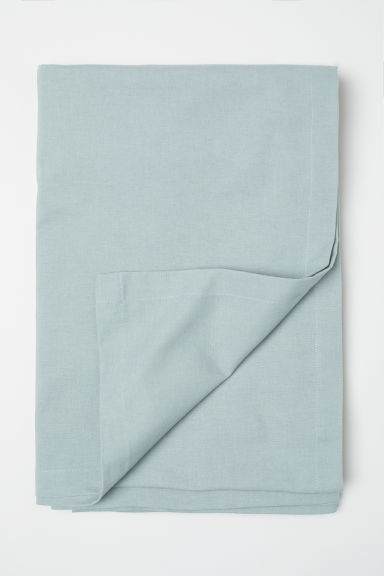 Cotton tablecloth - Dusky green - Home All | H&M CN