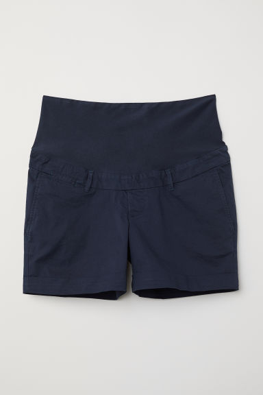 MAMA Chino shorts - Dark blue -  | H&M