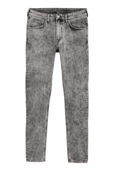 Super Skinny Jeans - Lichtgrijs washed out - HEREN | H&M BE