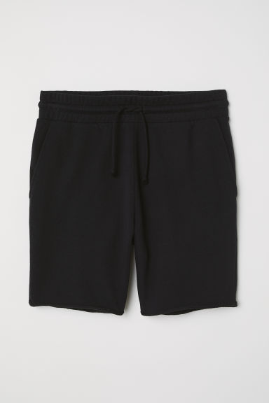 Sweatshirt shorts - Black -  | H&M CN