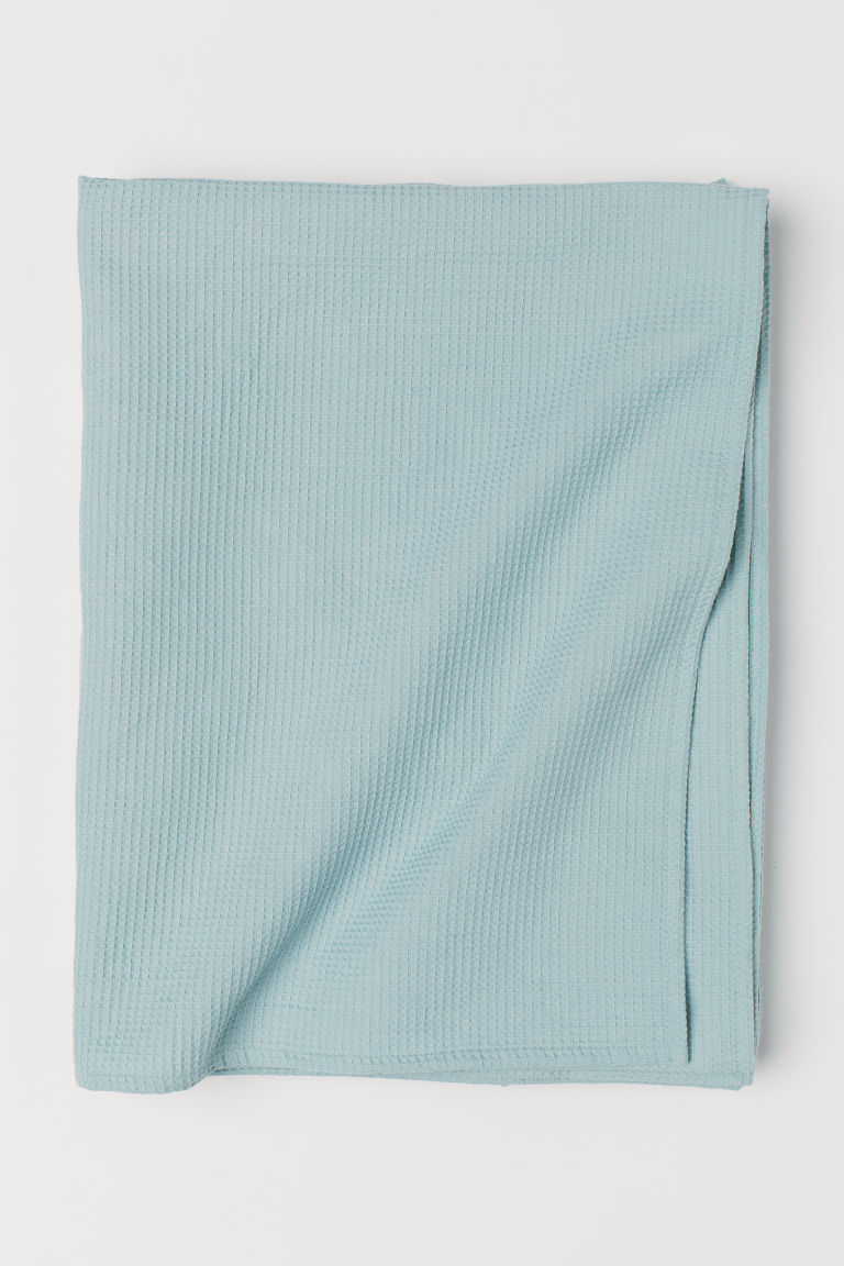 Nappe gaufrée - Turquoise clair - Home All | H&M CA