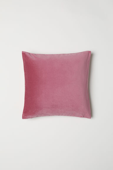 Velvet cushion cover - Old rose - Home All | H&M CN
