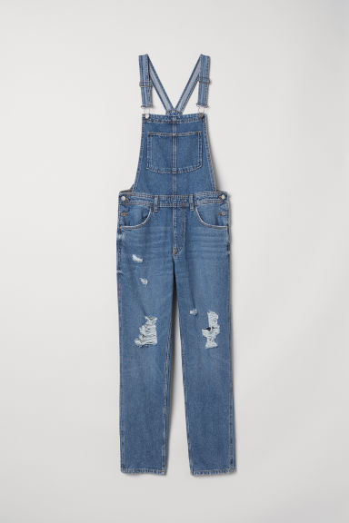 Denim dungarees - Denim blue -  | H&M