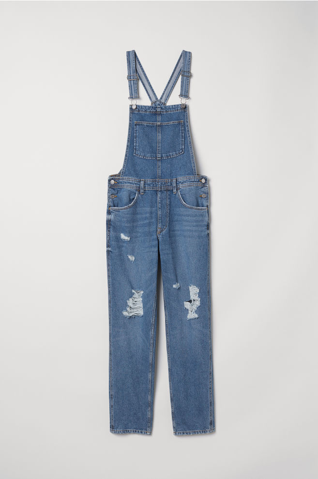 622420b2298 Denim dungarees - Denim blue - Ladies