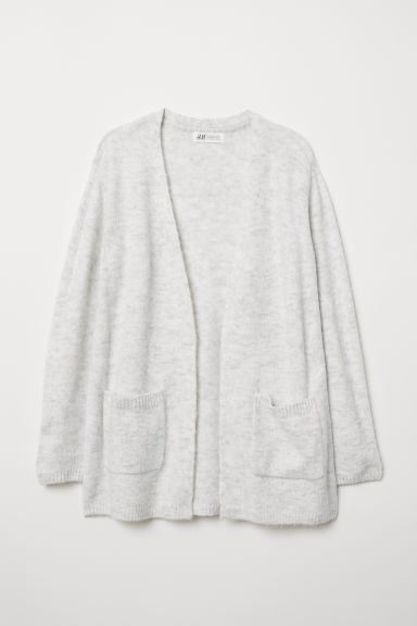 Knitted cardigan - Light grey - Kids | H&M