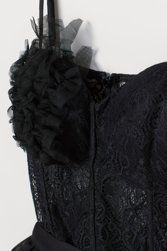 Balettdräkt i spets - Svart - DAM | H&M SE 2