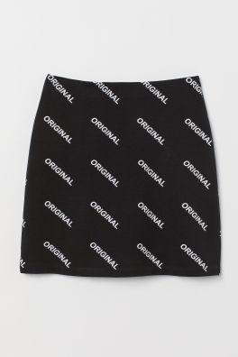 fd519c1117 Short Jersey Skirt