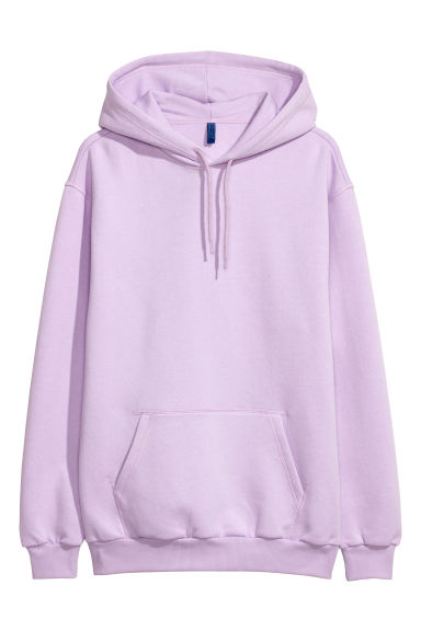 Hooded top - Heather - Men | H&M