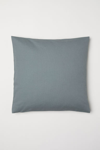 Canvas Cushion Cover - Khaki green -  | H&M CA
