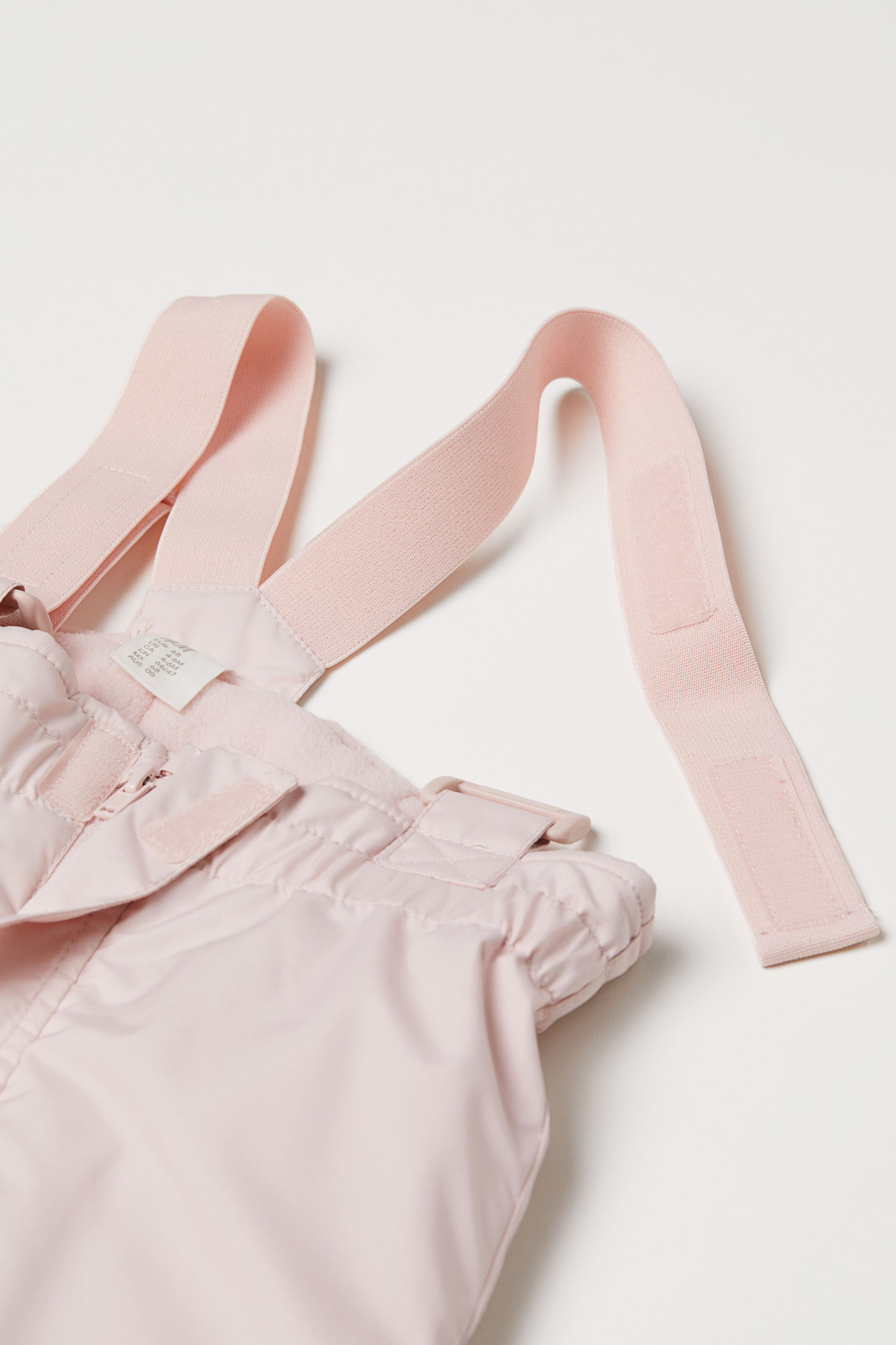 28358a3e656e Snow Pants with Suspenders - Light pink - Kids
