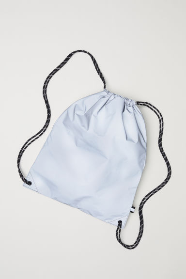 Reflective gym bag - Silver-coloured -  | H&M