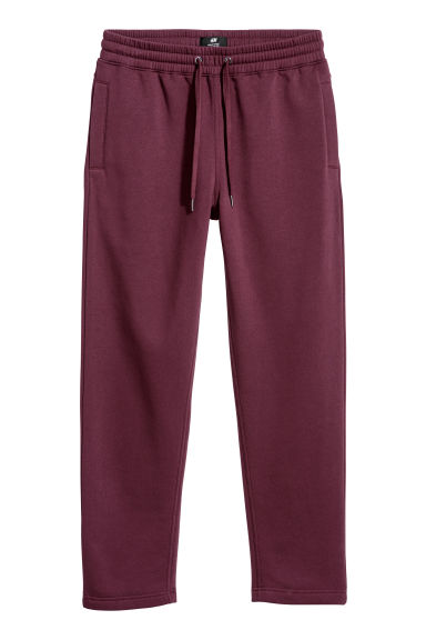 Sweatpants Regular fit - Burgundy -  | H&M
