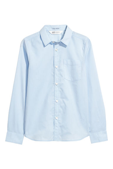 Easy-iron shirt - Light blue - Kids | H&M