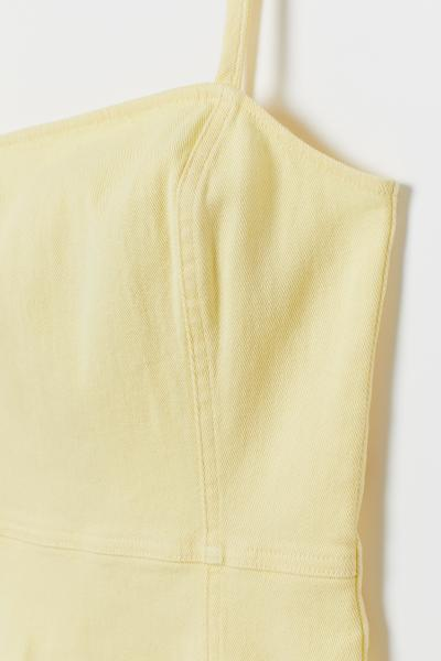 H&M - Cotton twill dress - 6