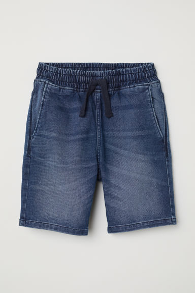 Shorts pull-on - Blu denim -  | H&M IT