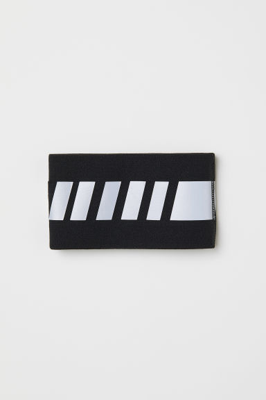 Reflective bracelet - Black/Reflective - Men | H&M