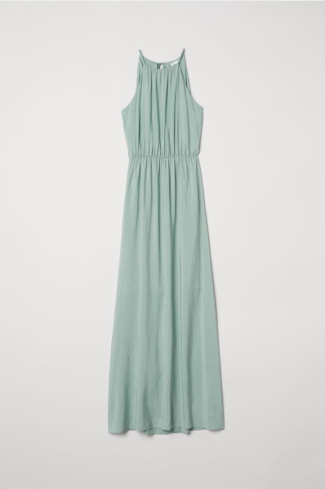9857693af7d Long Dress - Dusky green - Ladies