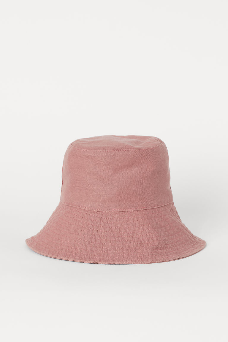 Cotton Sun Hat - Dusty rose - Ladies | H&M US