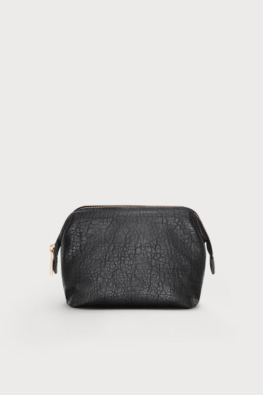 Make-up bag - Black -  | H&M GB