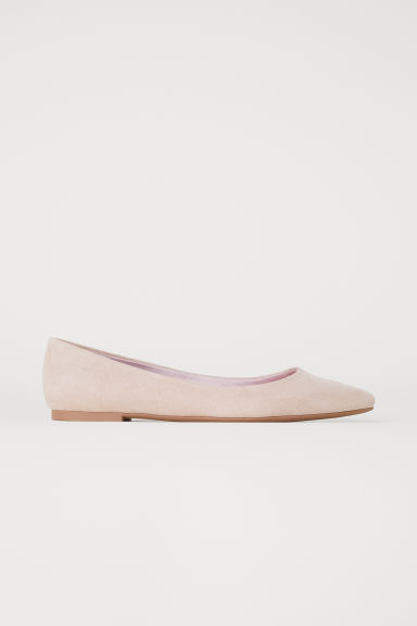 Pointed Flats - Beige - Ladies | H&M US