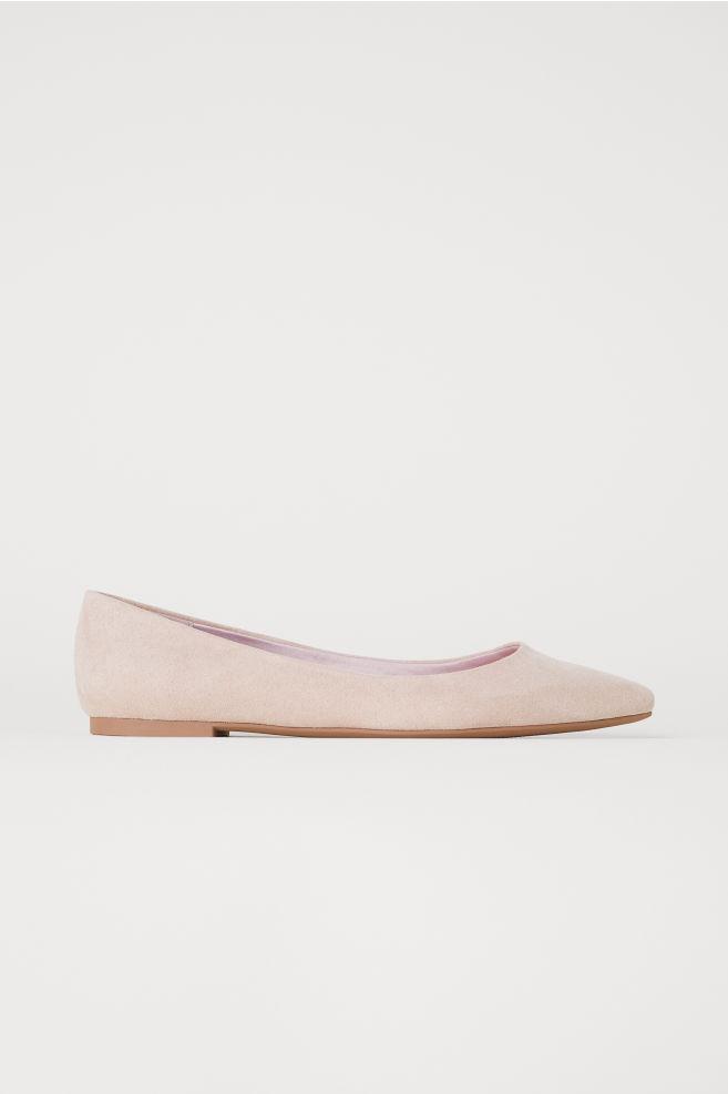 d0df6c38c7f0 Pointed ballet pumps - Beige - Ladies