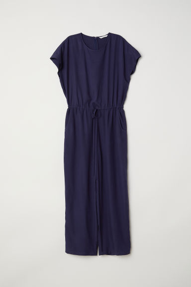 Jumpsuit - Dark blue - Ladies | H&M