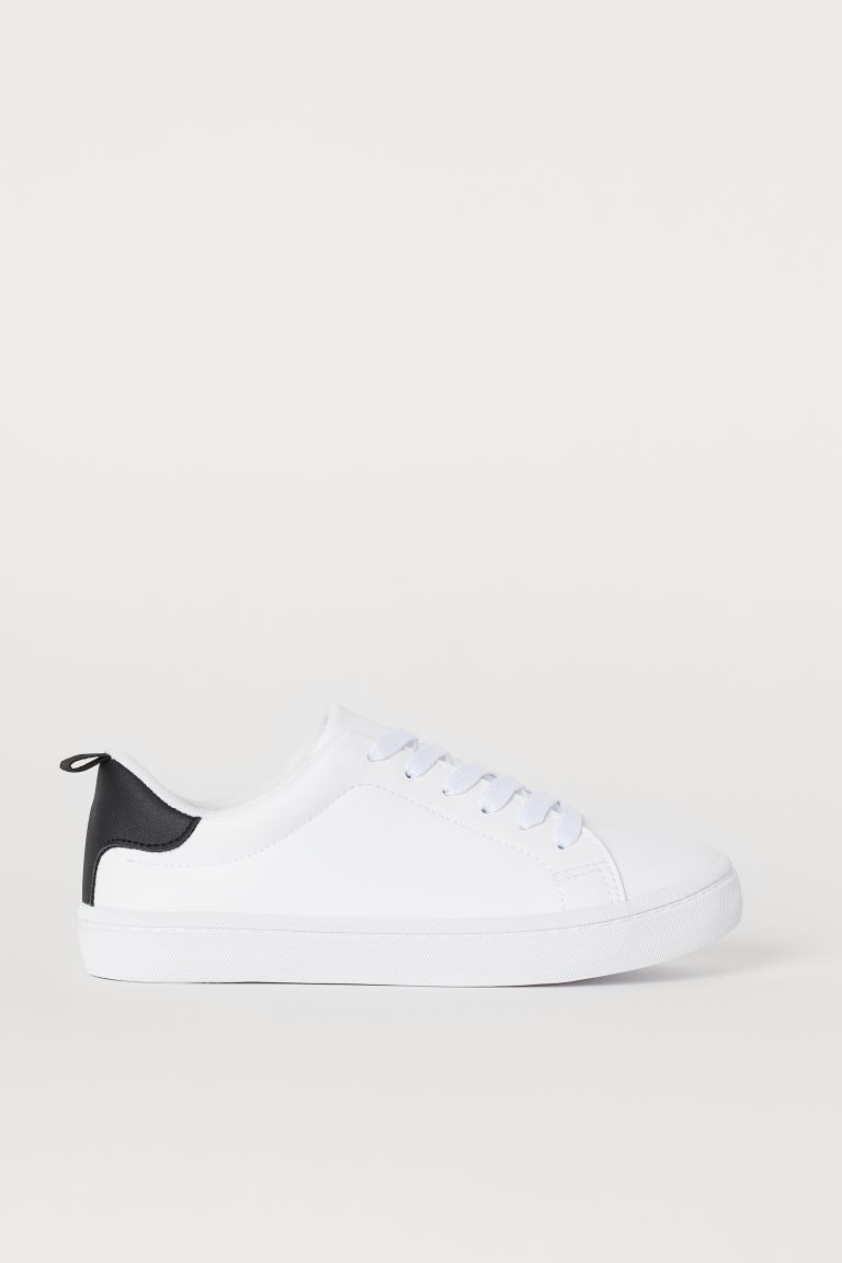 Trainers - White/Black - Kids | H&M