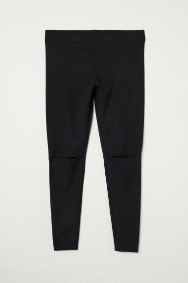 H&M+ Cut-out leggings - Black - Ladies | H&M