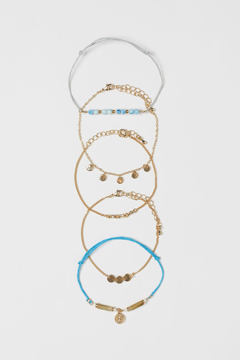 5-pack Bracelets - Gold-colored - Ladies | H&M CA