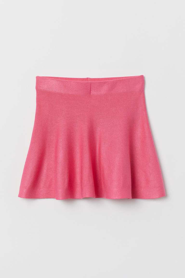 Bell-shaped skirt - Pink - Kids | H&M CN