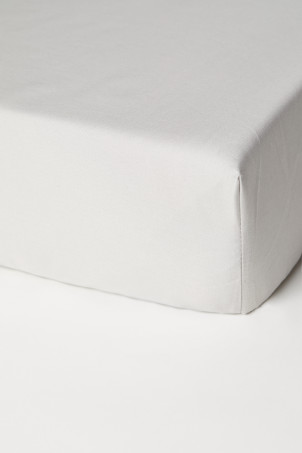 Fitted Cotton Satin Sheet