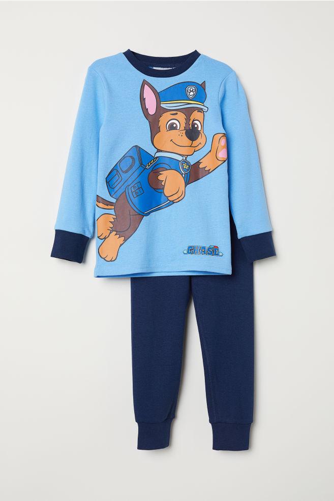 50fd0bf1a62 Jersey pyjamas - Blue/Paw Patrol - Kids | H&M ...