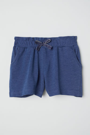 Jersey shorts - Dark blue - Kids | H&M