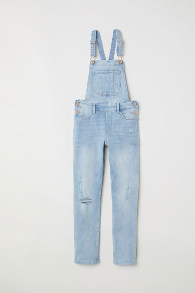 Salopette in denim - Blu denim chiaro -  | H&M IT