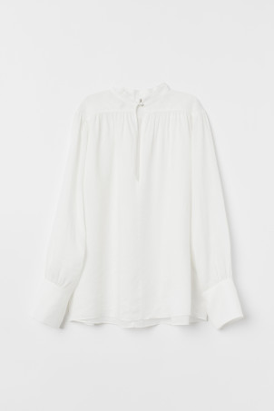 Airy rami blouse