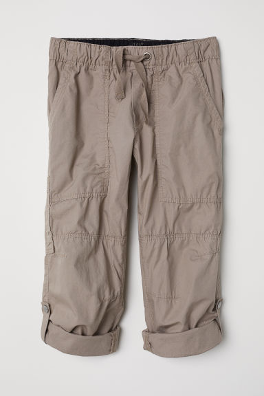 Cargo trousers - Light mole - Kids | H&M