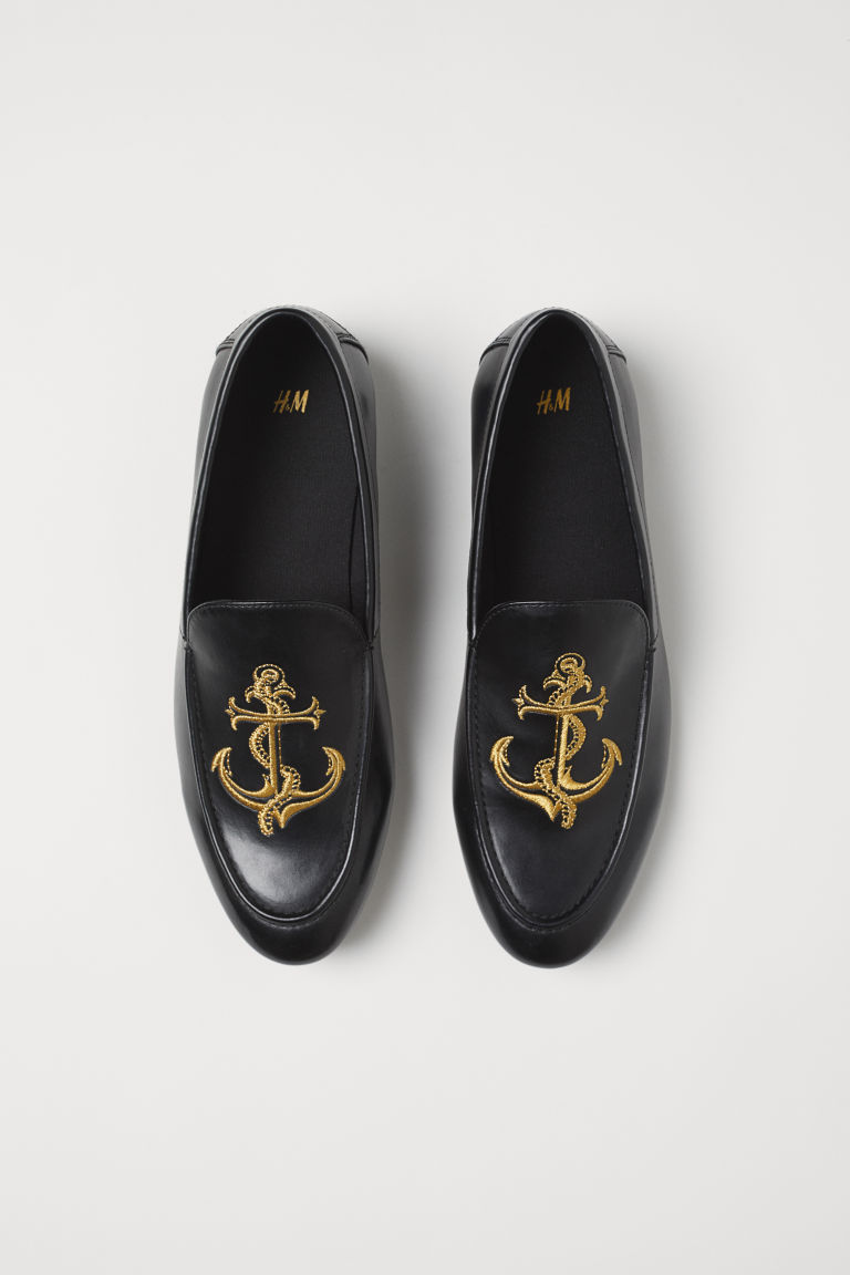 Loafers - Black/Anchor -  | H&M