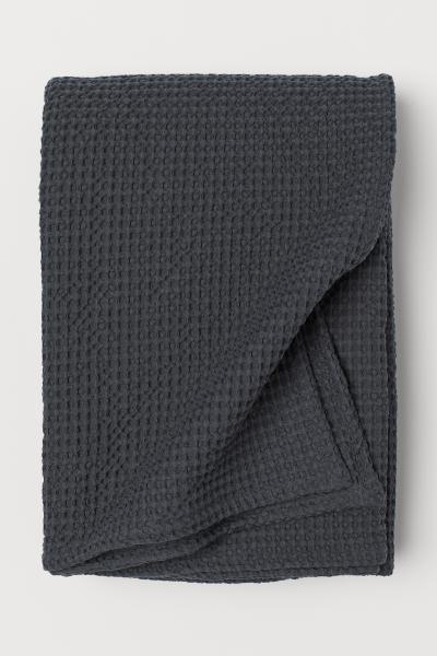 H&M - Waffled cotton bedspread - 1